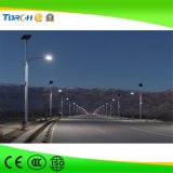 Nagelneue Li-Ionbatterie-Solarstraßenlaterne30W 40W 50W