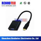 Câble à grande vitesse et connecteurs du VGA de HDMI