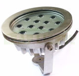36W 옥외 DMX 통제 시스템 12*3W IP68 수중 LED 램프