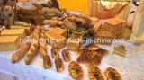 La venta caliente 16 bandejas Rotary Horno de cocción de pan y la torta / Gas horno de pan / pan Línea de Producción