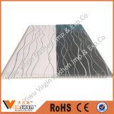 Panneau de plafond de estampage chaud de PVC de couleur