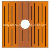 FO-9t03 de vierkante Geperforeerde Zeef van het Staal Corten Boom voor OpenluchtDecoratie