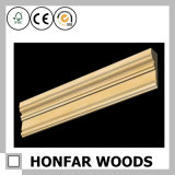modanatura di legno della parte superiore della decorazione del soffitto di 21mm x di 69mm