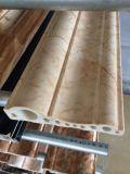 Construção Safety&Nbsp; Linha de produção de mármore da telha do falso da extrusora