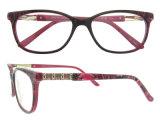 Fabricantes dos frames óticos em Eyeglasses óticos do acetato bonito de China