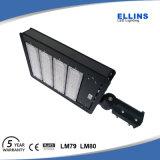 光電池が付いている100With150With200W駐車場の通りLED Shoeboxライト