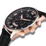 La leyenda auténtica de la cara grande de la manera del reloj del cuarzo de los hombres modernos mira los relojes de lujo de Relogio Masculino de la marca de fábrica de los hombres