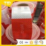 Красная и белая отражательная лента DOT-C2 одобряет