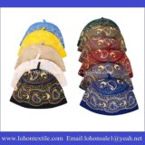 Арабская крышка Kufi человека и женщины молитве вышивки шлема сделанная шерстяным материалом