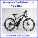 Bici de montaña eléctrica de la bici de la fibra del carbón