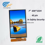 "7 "" экран касания индикации LCD поверхности стыка 40 Pin Mipi"