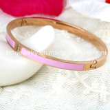 Creative Inspire Stainless Steel Couple Bracelet Bangle Fashion Jewelry