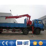 小型持ち上がる油圧貨物自動車のクレーンによって取付けられるトラック