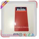 Rivestimento rosso lucido metallico personalizzato della polvere della vernice di spruzzo dell'oro di colore