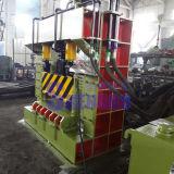 Máquina de estaca automática da sucata com transporte de alimentação