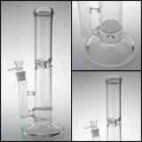 吹く煙る蜜蜂の巣のPercののまっすぐに作られる管ガラス手のためのガラス配水管