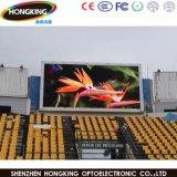 Alta pared a todo color al aire libre del vídeo del brillo P10 LED