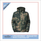 Outdoor Camouflage Double Layer Waterproof 10000mm Jacket