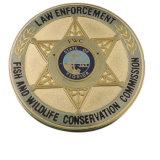 Médaille ronde en métal 2017 fait sur commande le plus neuf avec le logo
