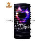Bandana multifunzionale magico variopinto promozionale su ordinazione del tubo di Headwear da vendere