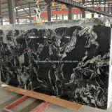 Granit noir cosmique de noir de cosmos pour des tuiles et des brames
