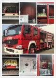 Camion Emergency di salvataggio di HOWO del camion dei vigili del fuoco resistente di guida a destra
