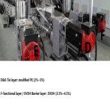 Máquina de una sola capa del moldeo por insuflación de aire comprimido de Accumulatic para los productos huecos
