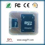 Cartão 100% personalizado de alta velocidade do micro do SD da capacidade do logotipo