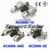 AC van het Type SMC Combinatie van de Filter van de Lucht van de Reeks de Pneumatische