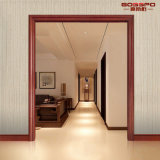 Interior Room Solid Wooden Wooden Door Frame Molding (GSP17-002)