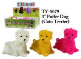 Lustige neue 4 ``Pomeranian Puffer-Hundespielzeug