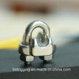 Type clip des États-Unis d'acier inoxydable de câble métallique
