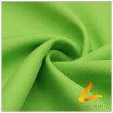 agua de 75D 210t y de la ropa de deportes tela rayada tejida chaqueta al aire libre Viento-Resistente 100% de la pongis del poliester del telar jacquar del Wheatear abajo (E011H)