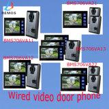 """"""" Video-Tür-Telefon der Farben-4-Wire 7 für Sicherheits-Gebrauch"""