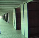 2 Tiers Mezzanine Floor Rack com Compartimento de Armazenamento