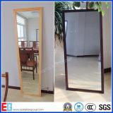 Miroir argenté / miroir fini / miroir encadré / miroir de dressing / miroir de bain (EGSM010)