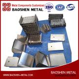 Части машинного оборудования изготовления металлического листа направляют от фабрики