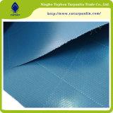 Bâche de protection stratifiée bleue Tb567 de camion de PVC de la Chine