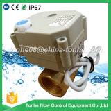válvulas de esfera elétricas do controle do aço inoxidável de 1/2 '' (T15-S2-B)