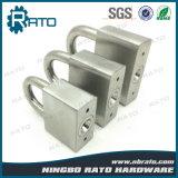Cadeado quadrado resistente do aço inoxidável para o armazém