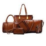 إشارات مشهورة أنيق كبيرة حقائب نساء حقيبة يد 6 [بكس/ست] نساء حقيبة [س7816]