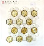 床のためのガラスモザイク