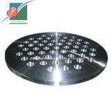 Placas de tubos de la placa de tubos de la forja del acero inoxidable de la hoja de tubo (ZH-TP-009)