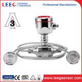 Détecteur affleurant de pression de membrane avec le joint de membrane