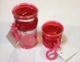 Trousse d'écolier ronde de sac de PVC de forme mignonne durable de cylindre