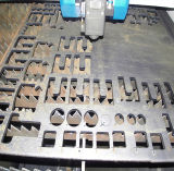 Máquina do laser da fibra da promoção 500/700/1000/1500W do GS de Han