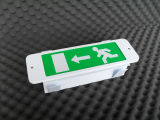 Signal à LED de sortie d'urgence encastrée (PR808MLED)