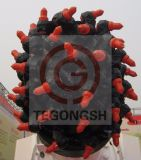 De Tanden van de Snijder van de Bit van de Snijder van de Hulpmiddelen van het Omspitten van de Hulpmiddelen van de bouw om de Bit van de Steel (TS19C)