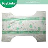 魔法テープが付いている使い捨て可能で柔らかい赤ん坊のおむつ