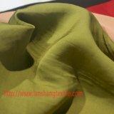 Tela de mistura viscosa da tela de rayon da tela da tela de linho da tela de Tencel para a matéria têxtil da HOME do vestuário das crianças da camisa de vestido